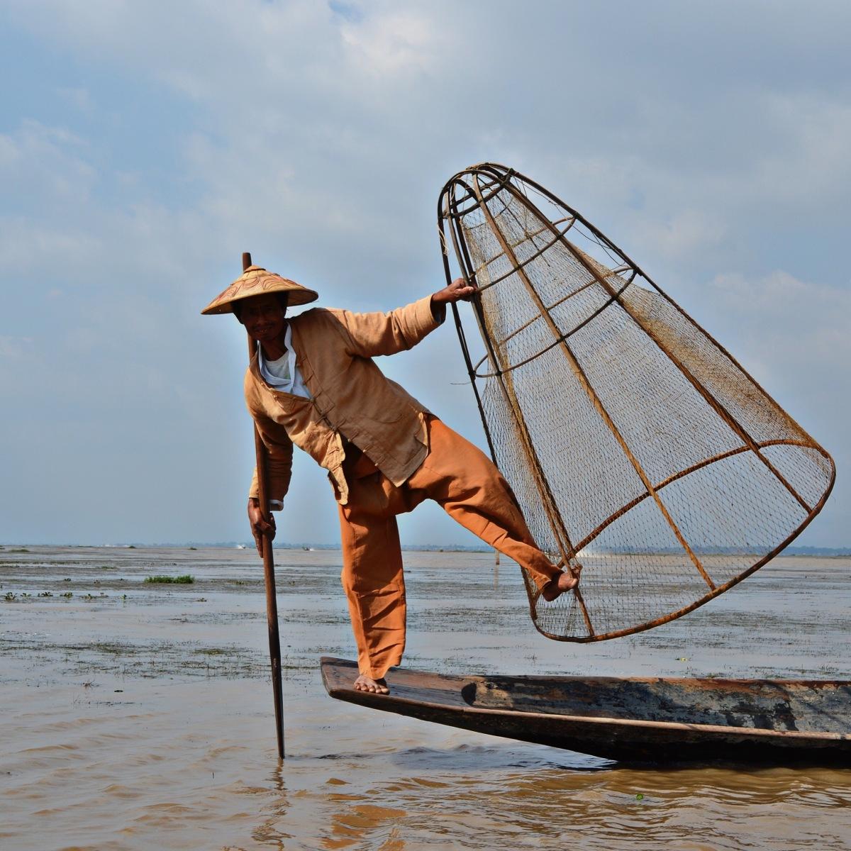 Inle-Lake, Myanmar